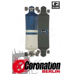 Globe Geminon Drop Down Longboard komplett - diamond white