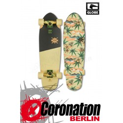 Globe Big Blazer Mini Longboard Cruiser Off White/Pakalolo