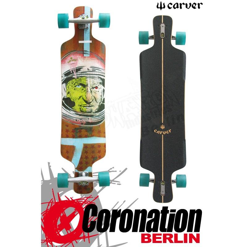 """Carver Drifter 41"""" Longboard Freeride Downhill complèteboard"""