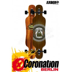 """Arbor Genesis 38"""" complete Longboard"""