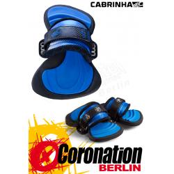 Cabrinha H1 Hydra pads et straps 2014 Footpads bleu