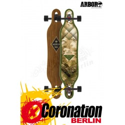 Arbor Axis Walnut complete Longboard