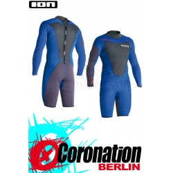 ION Element Shorty LS 2,5 DL neopren suit 2015 blue