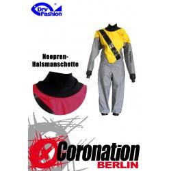 Dry Fashion SUP Performance Trockenanzug grau gelb