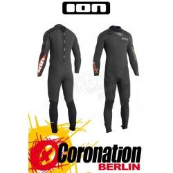 Ion Element Semidry Skin 5/4 DL neopren suit Black