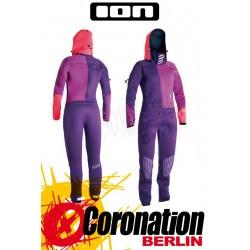 Ion Envee Drysuit 4/3 DL 2015 Frauen Trockenanzug Purple