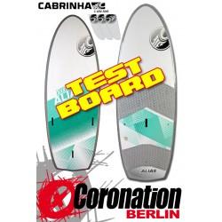 Cabrinha Alias 2015 TEST Kiteboard Freeride / Leichtwind