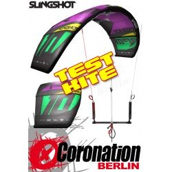Slingshot RPM 2014 TEST Kite 11m² mit Bar