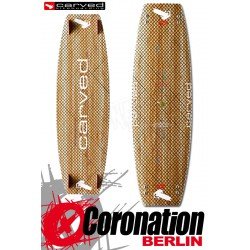 Carved PXT 4 Kiteboard Custom Wood X-Carbon Flex