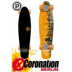 Prohibition Oldschool Retro Wood Longboard Cruiser Frisco