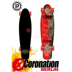 Prohibition Oldschool Retro Wood Longboard Cruiser London