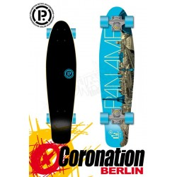 Prohibition Oldschool Retro Wood Longboard Cruiser Paname