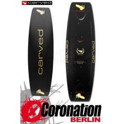 Carved Imperator 5 Kiteboard GOLD Custom Glossy Full Carbon Flex