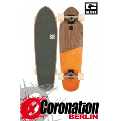 Globe Big Blazer Mini Longboard Cruiser Brown/Orange