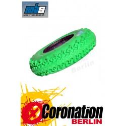 MBS T3 Mountainboard Reifen  8'' grün - 4er Satz