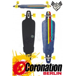 Flying roues Rig 38.5 Longboard complète Navy