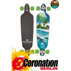 San Clemente Dolphines complete longboard