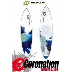 North Kontact 6´1 2013 Wave-Kiteboard