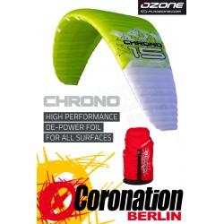 Ozone Chrono Leichtwind Depowerkite mit Race Bar