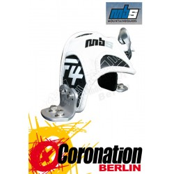 MBS F4 Pro Bindings Aluminium Brackets White
