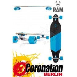 RAM Solitary 2.0 Limited Edition Komplett Longboard Blau