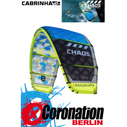 Cabrinha Chaos 2015 Freestyle Wakestyle Kite 11m²