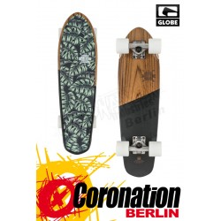 Globe Blazer Mini Longboard Cruiser Teak Monstera