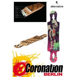 Alternative Longboards Junko 2015 Deck Soft