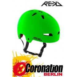 REKD Elite vert/Black Helme