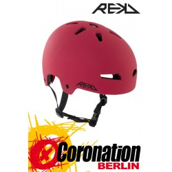 REKD Elite Red/Black Helme