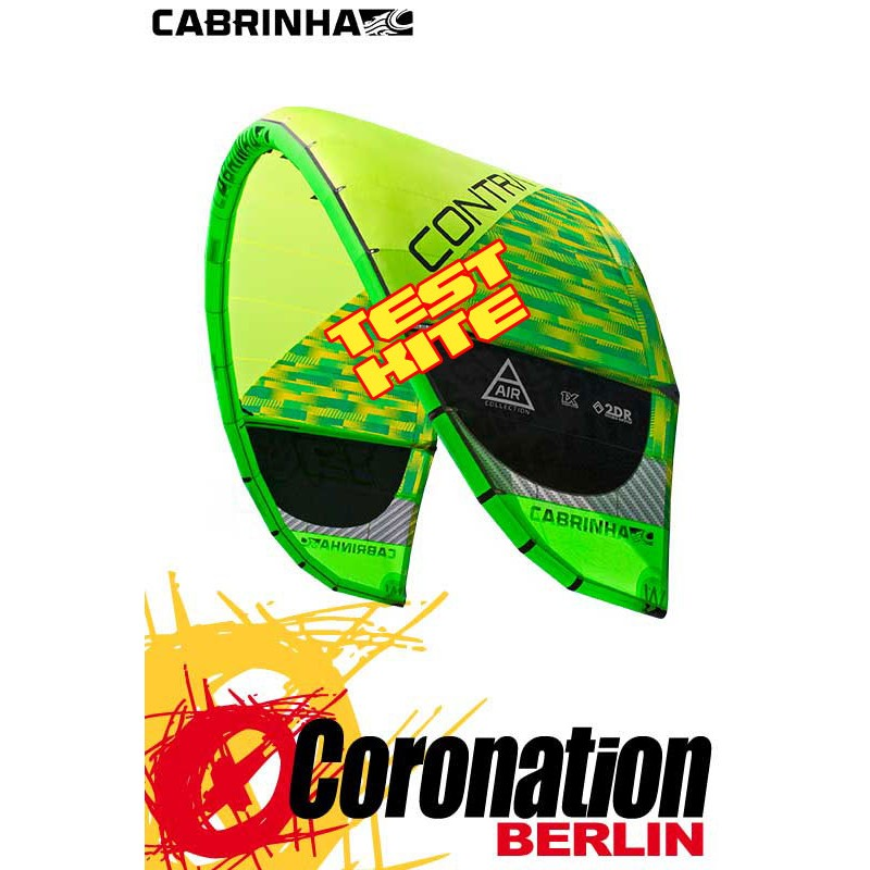 Cabrinha Contra 2016 TEST Kite 15m² LW - Lightwind gebraucht Kite Only