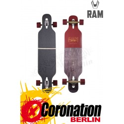 RAM Ciemah Rosewood 2015 Komplett Longboard