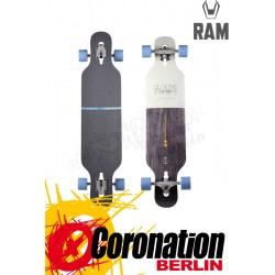 RAM Ciemah Cool Gray 2015 Komplett Longboard