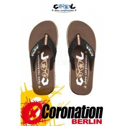Cool Shoes ORIGINAL chestnut Badelatschen Strand Sandalen