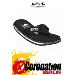 Cool Shoes ORIGINAL black Badelatschen Strand Sandalen