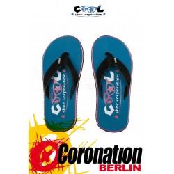 Cool Shoes EVE Slight 80's enamel blue Badelatschen Strand Sandalen