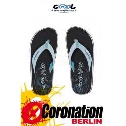 Cool Shoes EVE Slight black Badelatschen Strand Sandalen