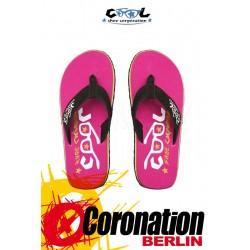 Cool Shoes EVE Slight Bright Rose Badelatschen Strand Sandalen
