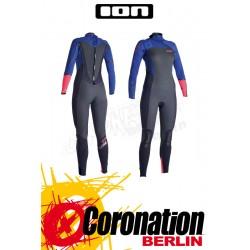 ION Hybrid WMS AMP 5/4 Skin neopren suit Black/Blue