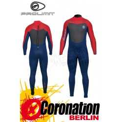 Prolimit Raider Steamer Wetsuit 5/3 combinaison neoprène Blue/Red