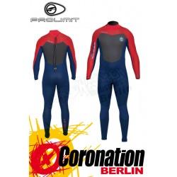 Prolimit Raider Steamer Wetsuit 5/3 Neoprenanzug Blue/Red
