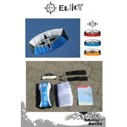Elliot Sigma Spirit 2-Leiner Kite R2F - 1.5 bleu