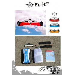 Elliot Sigma Spirit 2-Leiner Kite R2F - 1.5 Rot