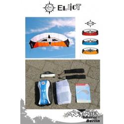 Elliot Sigma Spirit 2-Leiner Kite R2F - 1.5 Orange