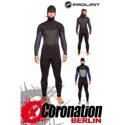 Prolimit Evo Freezip X 6/5 FTM combinaison neoprène Fixed Hood Black