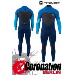 Prolimit Fusion Steamer 5/3 FTM DL neopren suit 2016 Cyan Blue