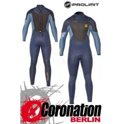 Prolimit Fusion 5/3 Steamer DL neopren suit Blue Yellow