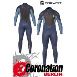 Prolimit Fusion 5/3 Steamer DL Neoprenanzug 2016 Blue Yellow