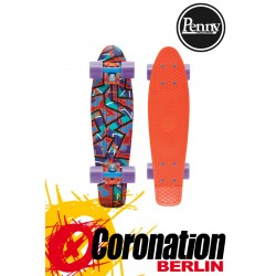 "Penny Skateboards 22"" Spike Orange Komplett Cruiser Longboard"
