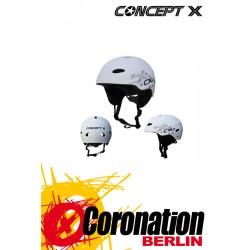 Concept-X Helmet Weiß - Water
